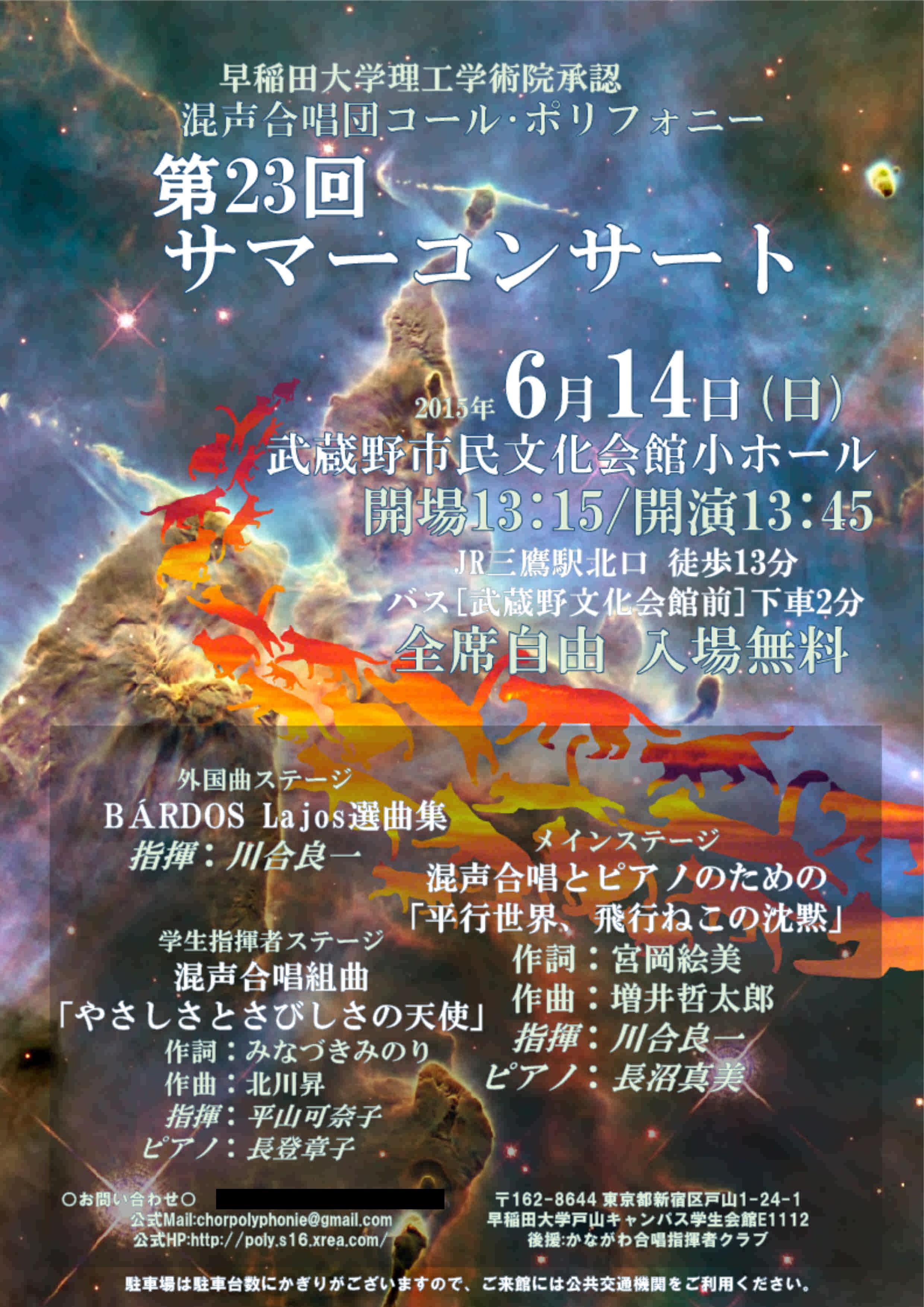 第23回サマーコンサート チラシ